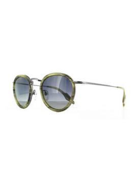 Óculos de Sol Vinyl Factory Redondo Tartaruga Cinza