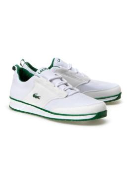 7dc78b15ed2 Ténis Lacoste Branco e Verde