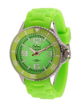 Relógio Colori Verde Lima