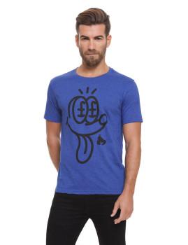 T-Shirt Money Homem Jackpot Azul