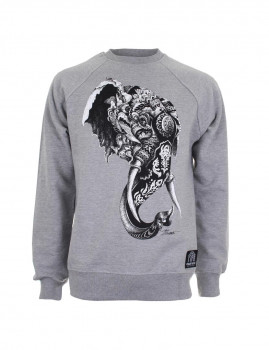 Sweatshirt Elephant Cinza Sports