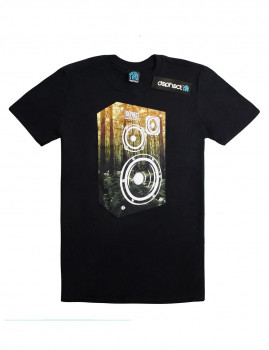 T-shirt Stereophonic Preto