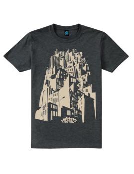T-shirt Rising High Cinza Mesclado