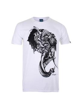 T-shirt Elephant Branco