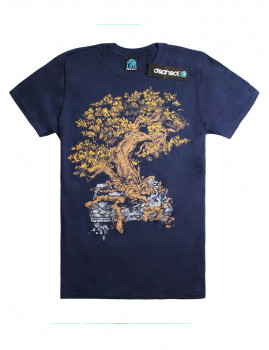 T-shirt Planted Azul Navy