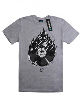 T-shirt Fire Cinza Sports