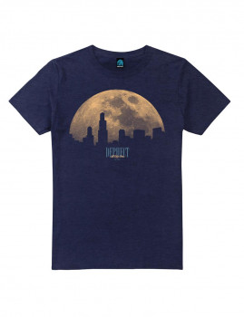 T-shirt Moonlight Azul Navy Mesclado