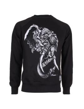Sweatshirt Elephant Preto