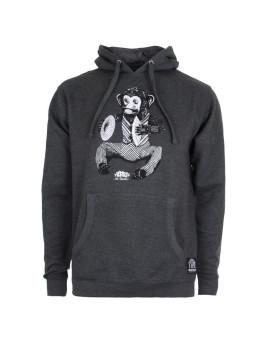 Hoodie Monkey Carvão