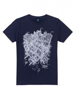 T-shirt From Above Azul Navy