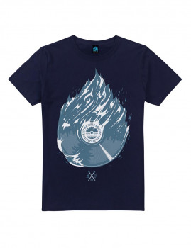 T-shirt Fire Azul Navy