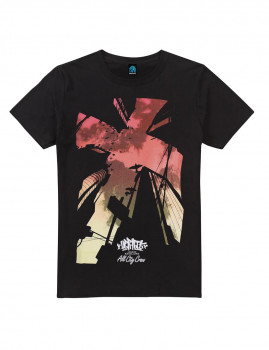 T-shirt Looking Up Preto