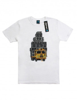 T-shirt Sound System Branco