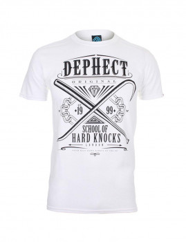 T-shirt Hard Knocks Branco