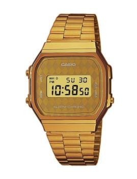 Relógio Casio Retro Vintage Dourado