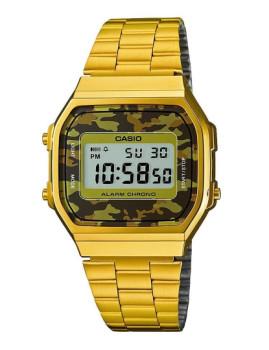 Relógio Casio Dourado Octagonal