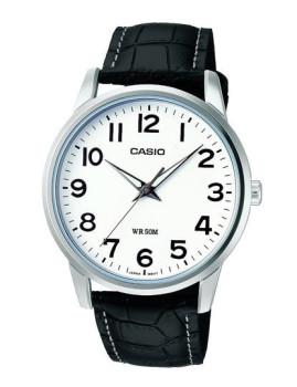 Relógio Casio Collection Redondo Preto e Branco