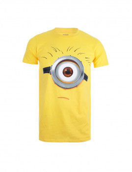 T-shirt Minions Tom Face Amarelo