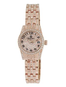 Relógio Burgmeister de Senhora Rosa Dourado
