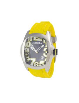 Relógio Chronotech Homem Amarelo