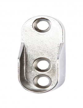 Set de dois suportes de metal para armário