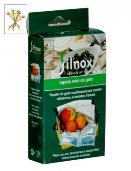 Tapete Refrigerador 19X15 Cm Para Lancheira, Caixa Alimentos, Etc...