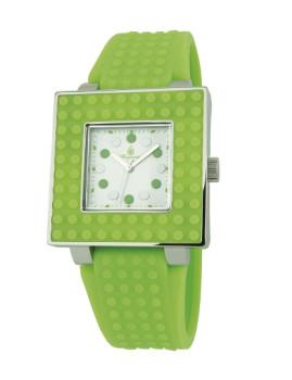 Relógio Burgmeister Color Games Verde e Branco