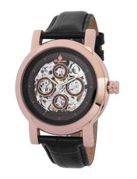 Relógio Burgmeister Alexandria Dourado Rosa e Preto