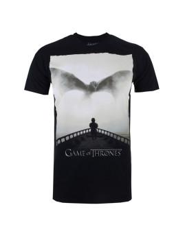 T-shirt Dragon Homem Preto