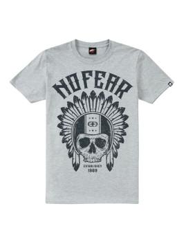 T-Shirt de Homem Native Rider Cinza