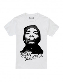 T-shirt Snoop Doggydogg Branca