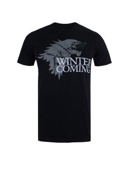 T-shirt Winter Homem Preto