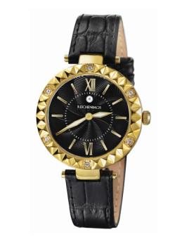 Relógio Reichenbach Loos Senhora Dourado e Preto