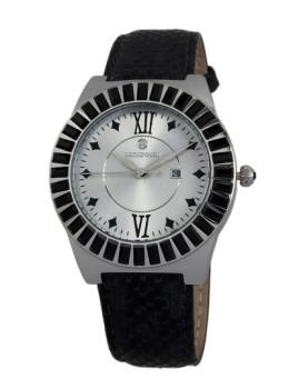 Relógio Reichenbach Fedders Senhora Prateado e Preto