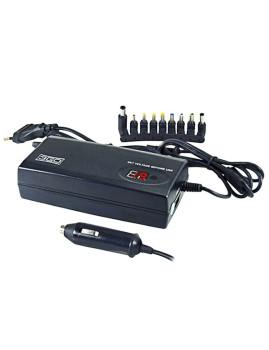 Carregador Para Universal Para Notebook 2 Em 1 - 3Go  90W C/ Ligação Auto