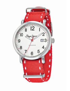 Relógio de Senhora Pepe Jeans Encarnado e Prateado