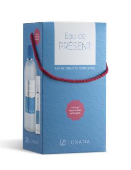 Coffret Luxana Eau De Présent pack 2 produtos