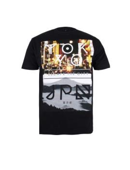 T-shirt Streetwear Tokyo Preta