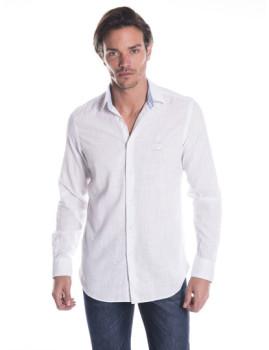 Camisa de Linho Giorgio di Mare Branco