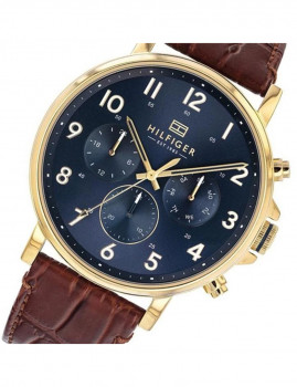 imagem de Relógio Homem Azul e Castanho 2