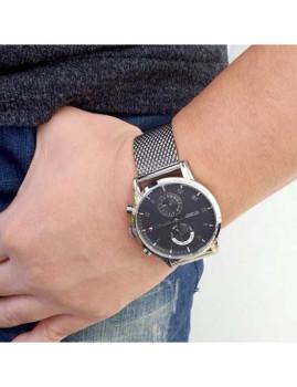 imagem de Relógio Homem Prateado6
