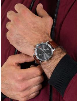 imagem de Relógio Homem Castanho5