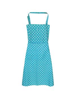 Avental De Cozinha Dots Azul