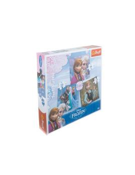 Puzzle 3 Em 1 Frozen
