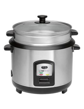 Panela de cozer arroz/cozer a vapor Clatronic
