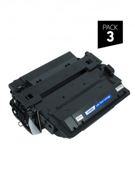 3 Generic Zp-Hp Ce255X Toner