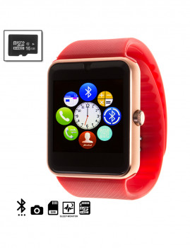 Gt08 Bluetooth Watch + Micro Sd De 16Gb Clase10