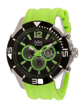 Relógio Colori Verde & Preto