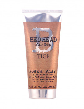 Bed Head para homem Power Play Firm Finish Gel 200 ml Tigi