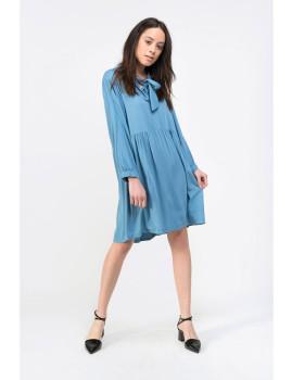 Vestido Senhora Dioxide Inci Azul denim